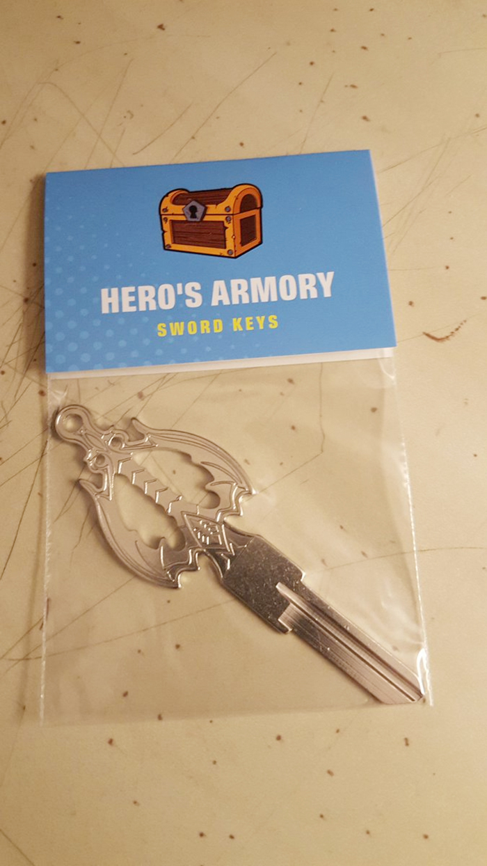 hero armory sword keys