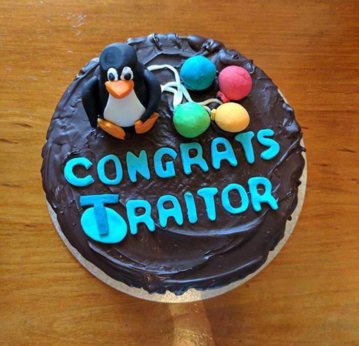 hilarious farewell cakes congrats traitor
