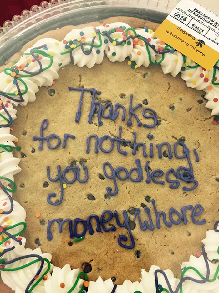 hilarious farewell cakes moneywhore