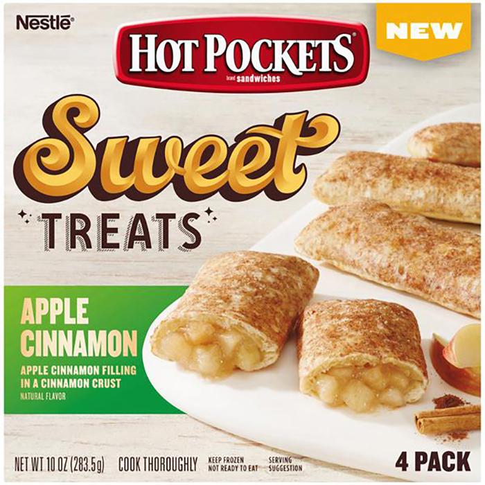 hot pocket sweet treats apple cinnamon