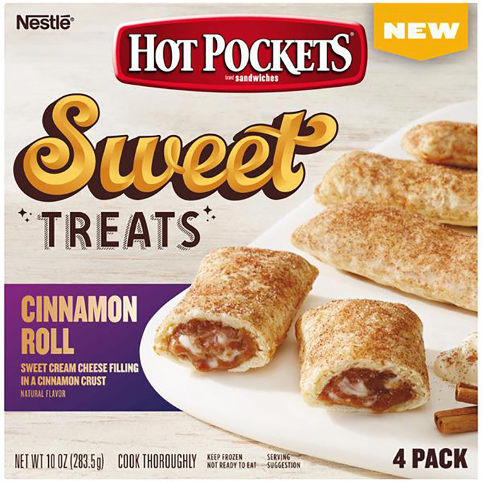 hot pocket sweet treats cinnamon roll