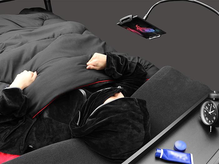 hovering phone flexible long arm holder