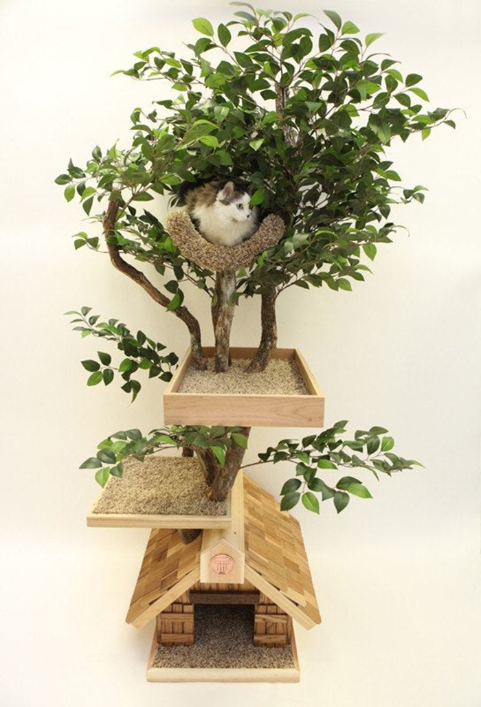 indoor pet treehouses medium