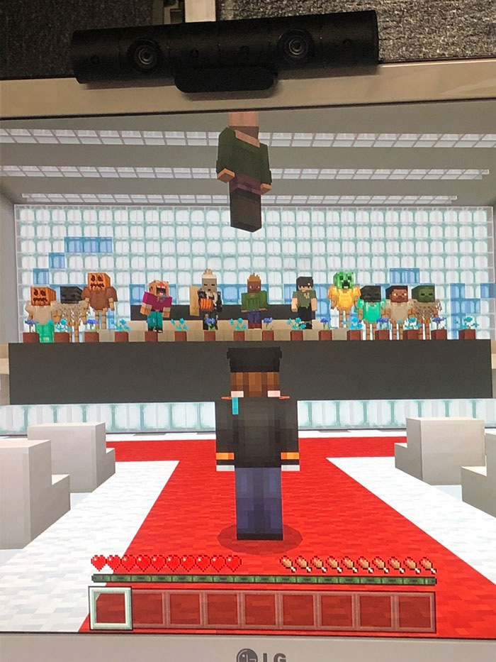 japanese students minecraft graduation