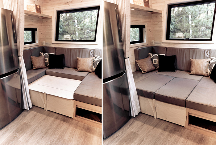 land ark rv u-shaped sleeper