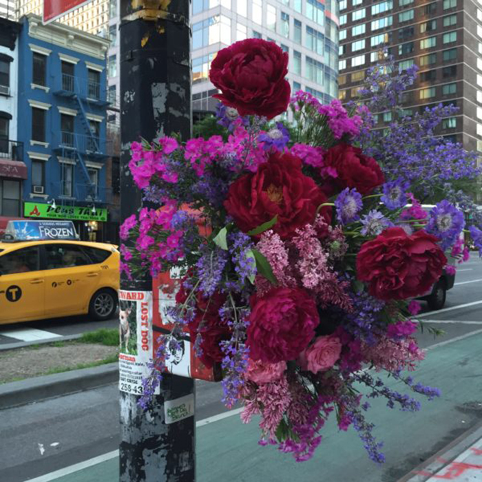 lewis miller flowers new york city abandoned call box