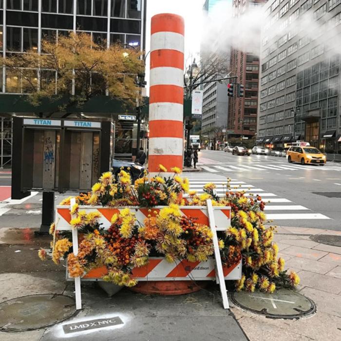 lewis miller flowers new york city smoke stack