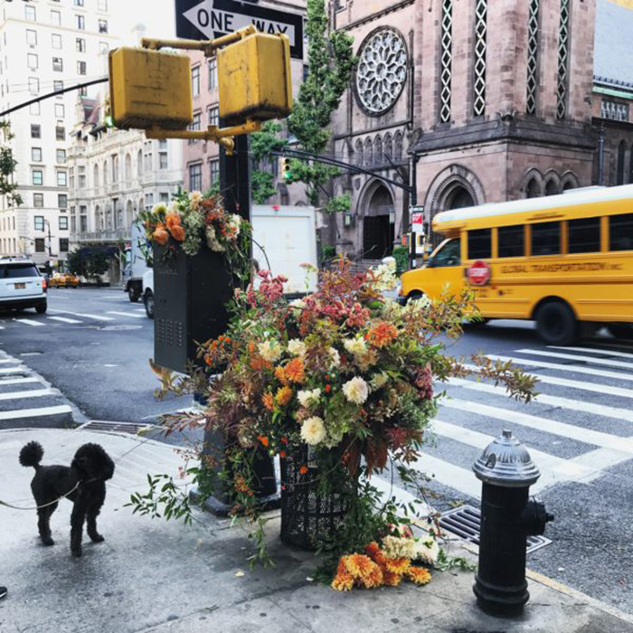 lewis miller flowers new york city trash can st james church