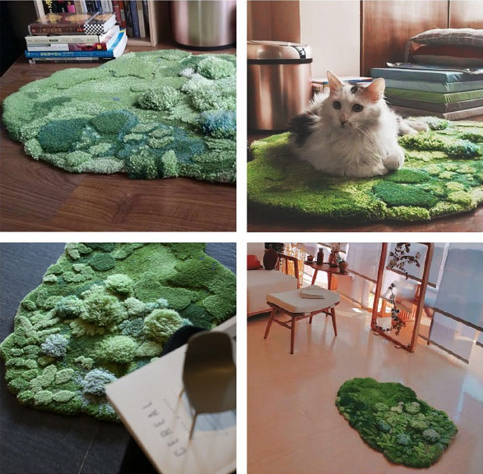 little forest 3d rugs pastoral style