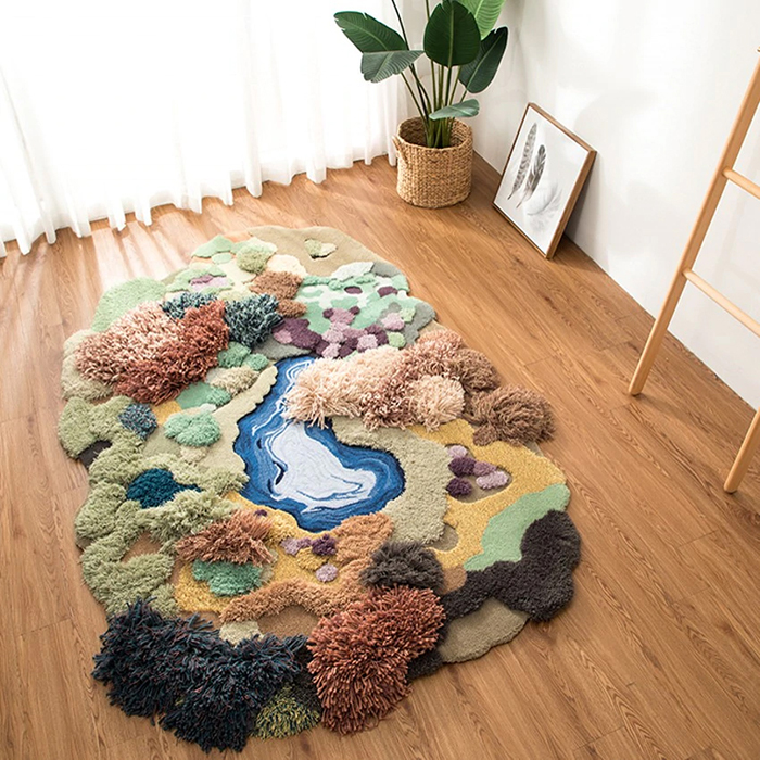 little forest 3d rugs