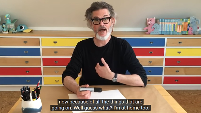 mo willems virtual session