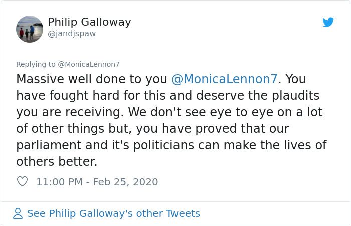 monica lennon campaign comment philip