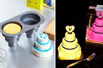 multi-tiered cake pan