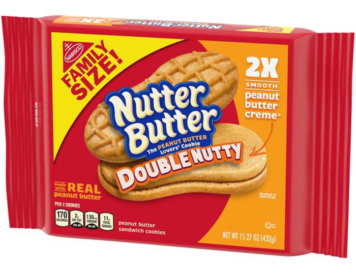 nabisco nutter butter double nutty
