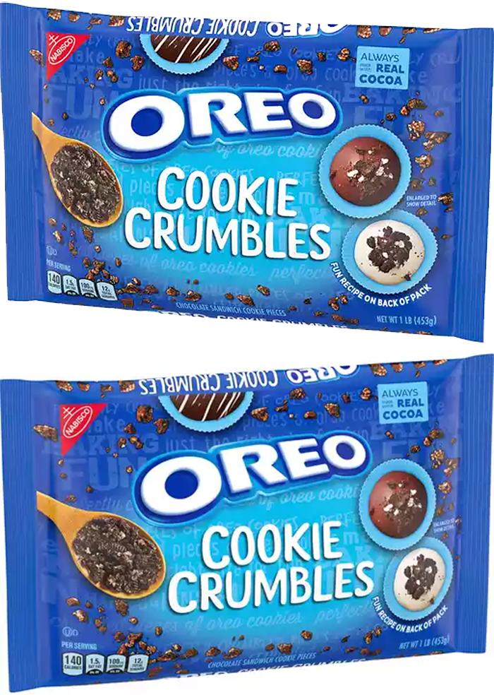 nabisco oreo cookie crumbles