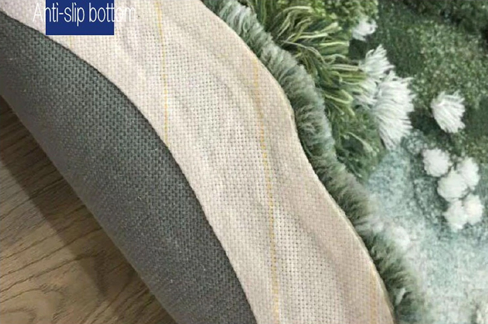 nature-inspired floor mat anti slip bottom