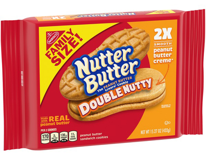 nutter butter double nutty family size pack