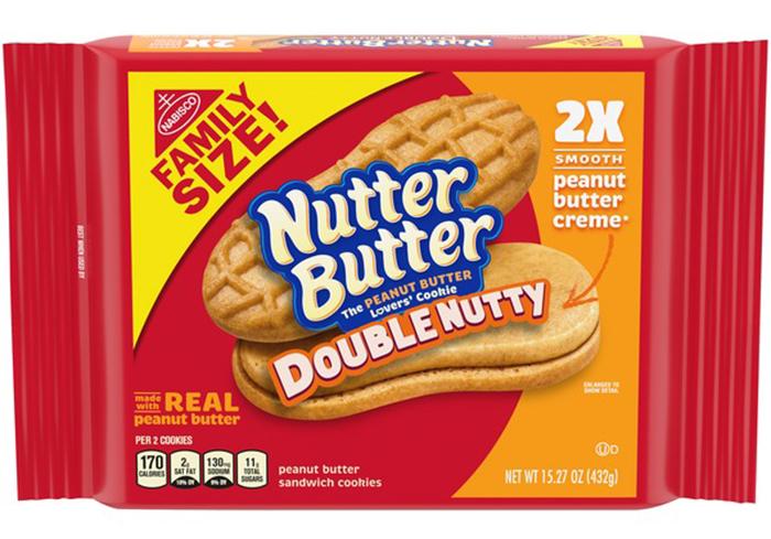 nutter butter double nutty