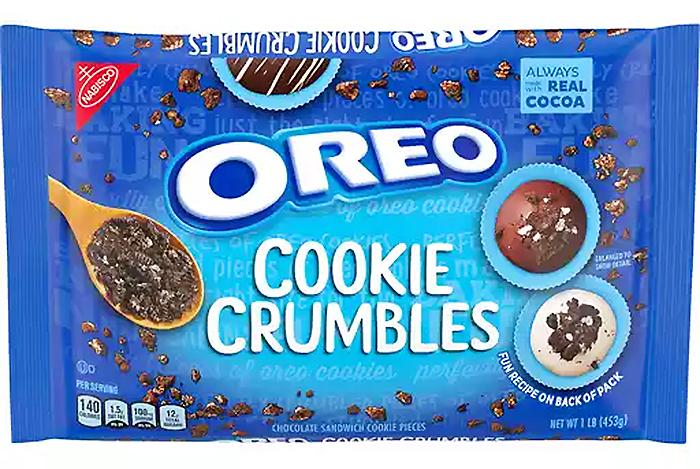 oreo cookie crumbles