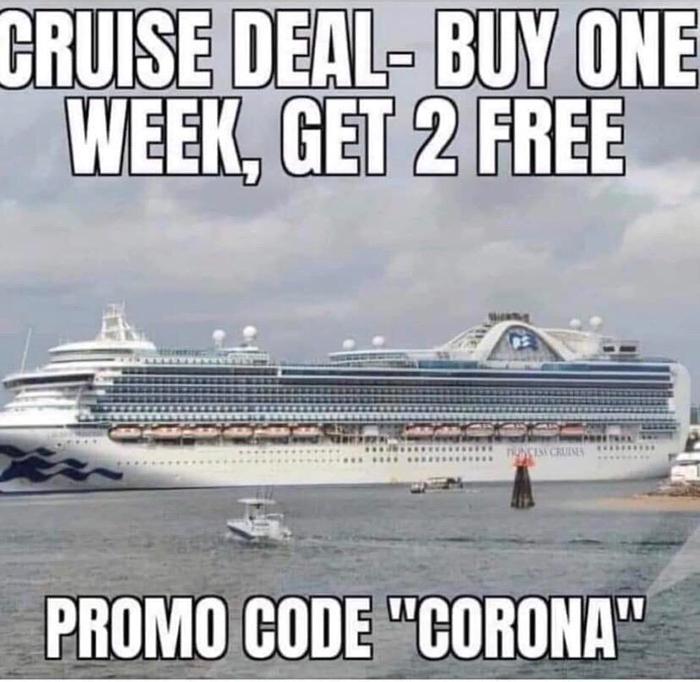 pandemic memes cruise promo code
