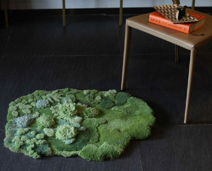 pastoral syle nature-inspired carpet