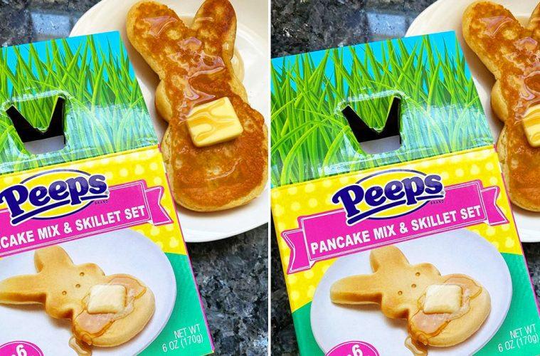 peeps pancake set