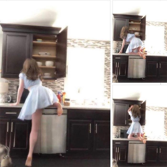 petite people kitchen struggle