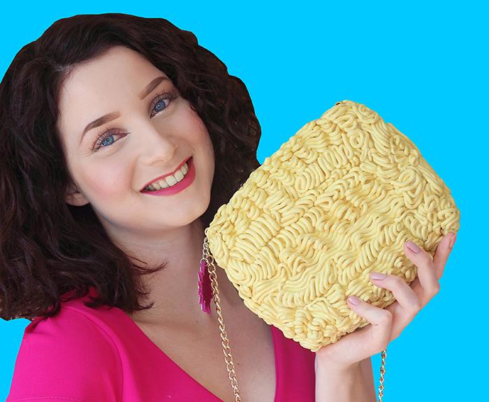 purse that looks like food
