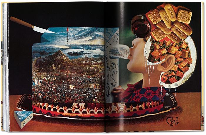 salvador dali recipe book illustrations