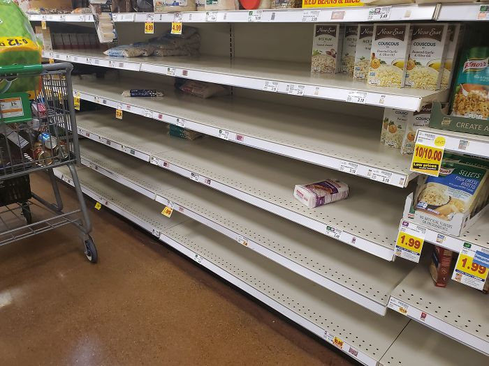 seattle coronavirus crisis dried beans selling out