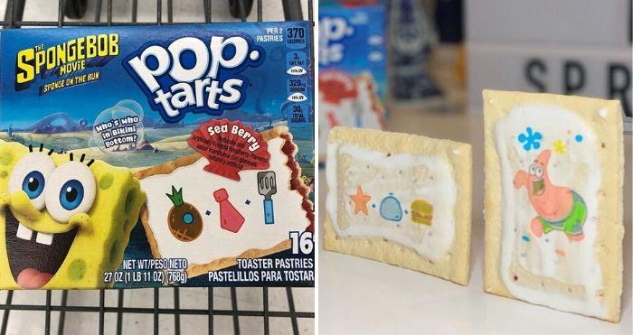 spongebob pop-tarts