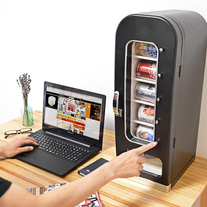 thanko mini soda vending machine