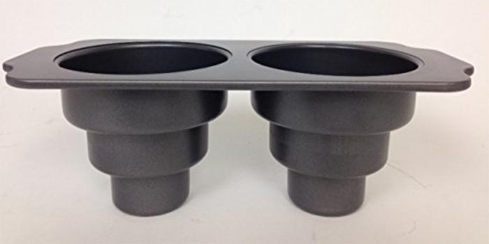 two-cavity baking pan