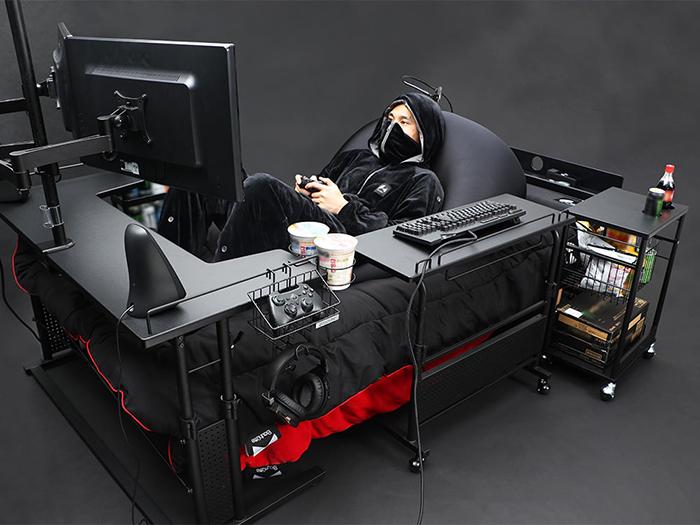 ultimate gaming bed bauhutte japan