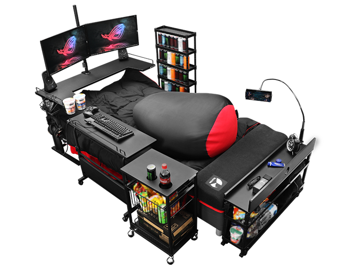 ultimate gaming bed complete set