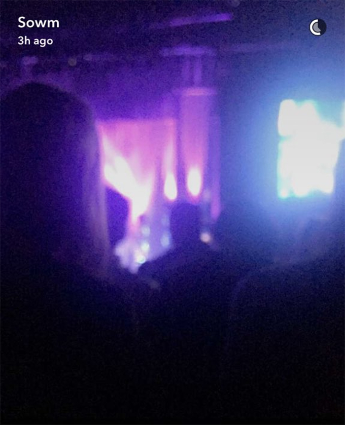view at the concert