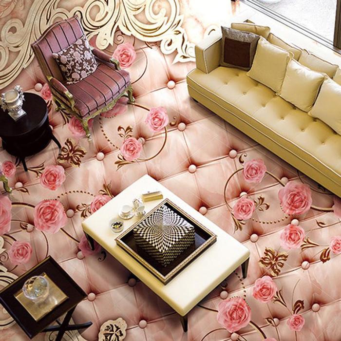 vinyl floor wallpapers leather flower