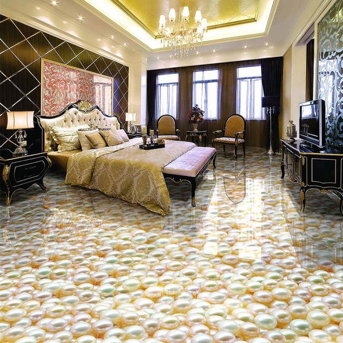 vinyl floor wallpapers pearls