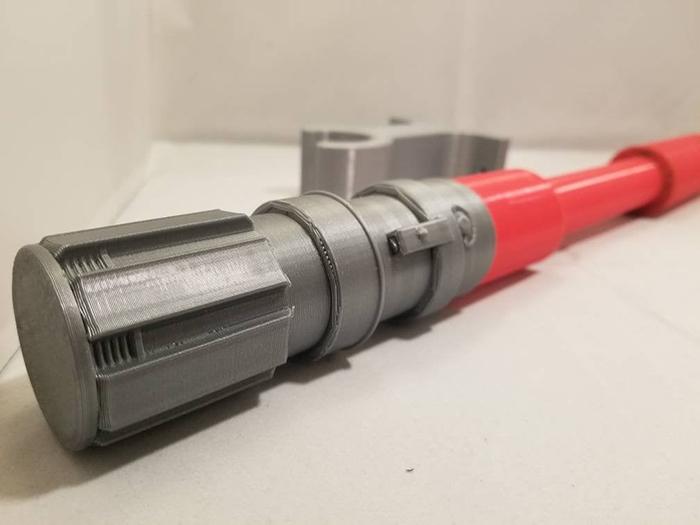 3d printed jedi weapon replica