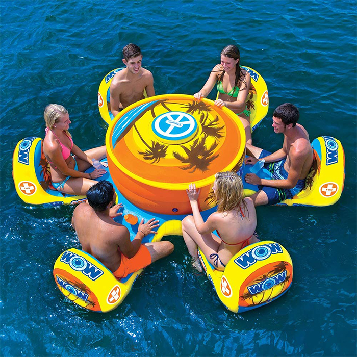 6-person floating picnic floater