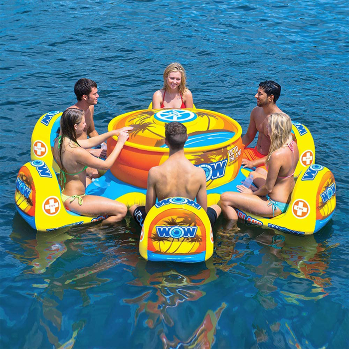 6-person inflatable table