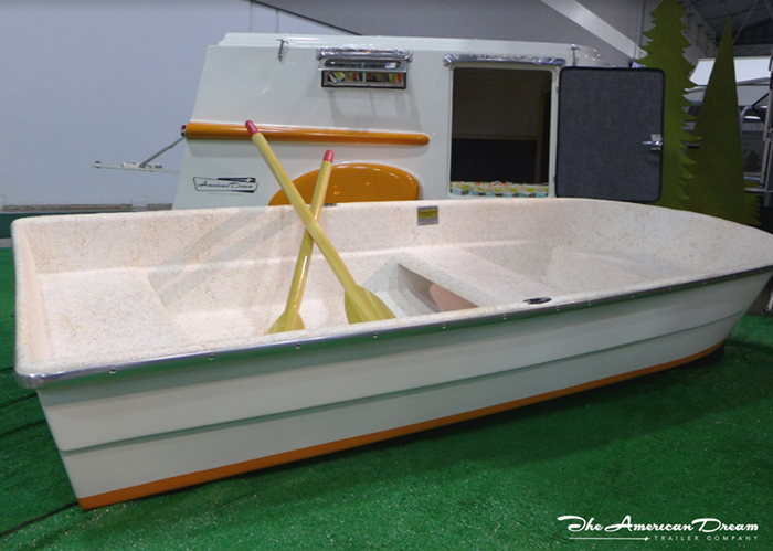 American Dream Trailer Boat Roof