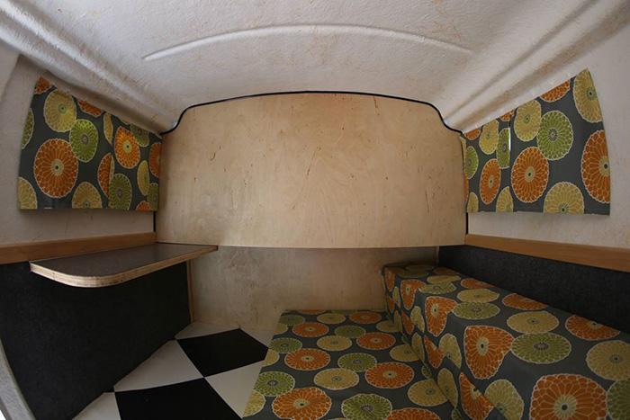 American Dream Trailer Retro Camper Interior