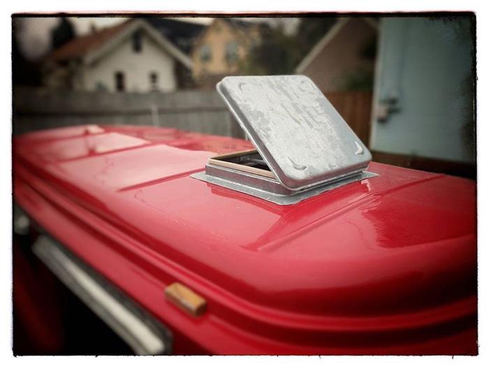 American Dream Trailer Vintage Roof Vent