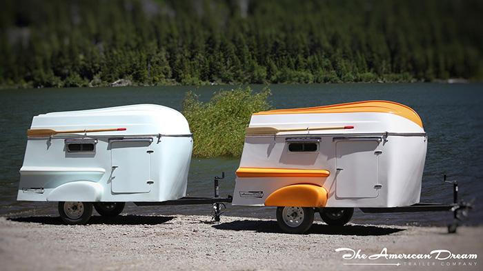 American Dream Trailers Retro Campers