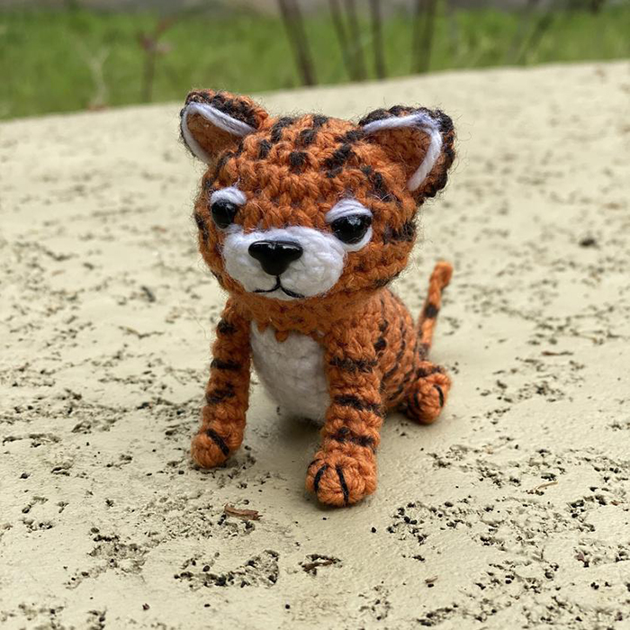 Ravelry: Amigurumi Cubby the Tiger pattern by Little Muggles | 700x700