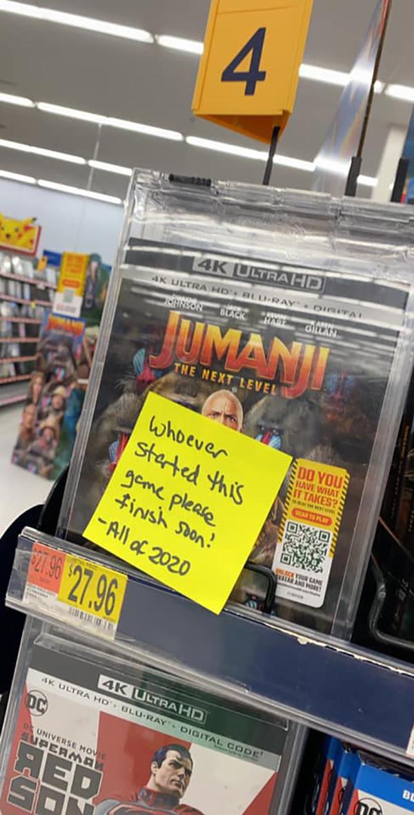 Amy Cook Funny Notes Jumanji