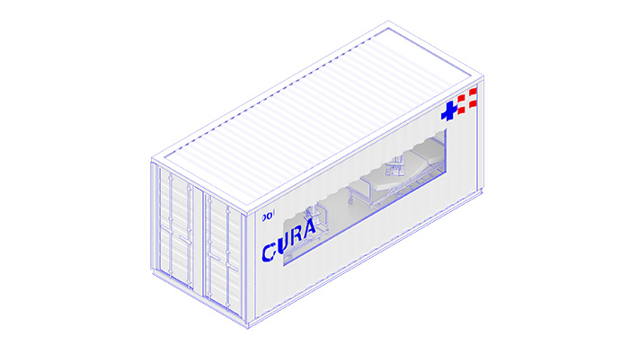 CURA Pod Exterior Fit Out