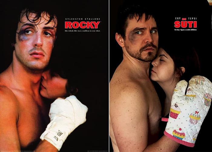 Couple Recreates Famous Movies Rocky