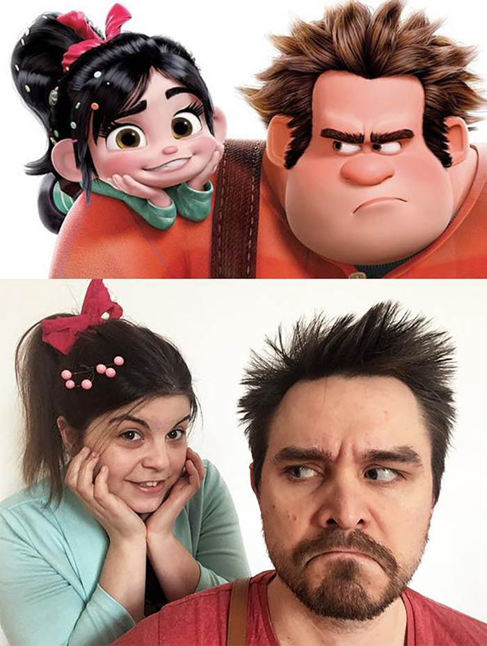 Couple Recreates Famous Movies Wreck It Ralph